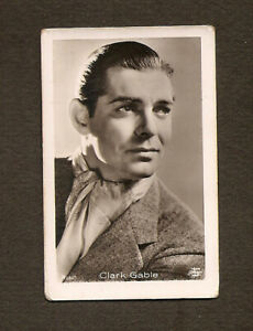 CLARK-GABLE-CARD-VINTAGE-1930s-COLLECTION-ROSS-REAL-PHOTO