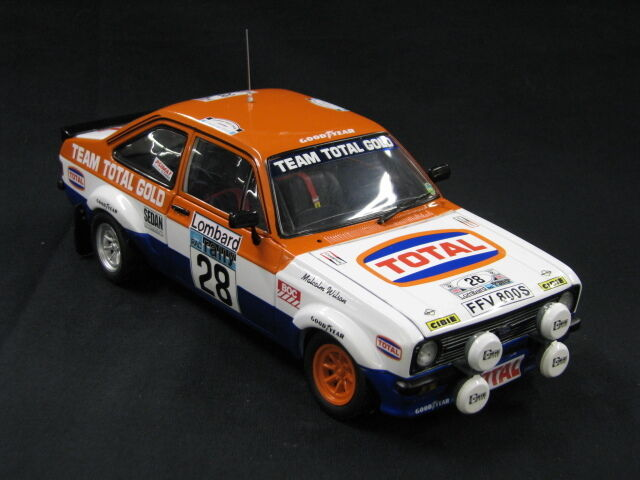Sun Star Ford Escort RS 1800 1979 1:18  28 Wilson / Harryman RAC Rally  MCC