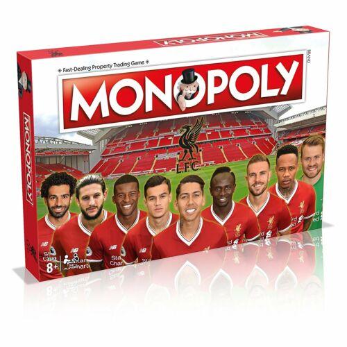 Spiel Brettspiel Gesellschaftsspiel Board Game englisch Monopoly Liverpool F.C