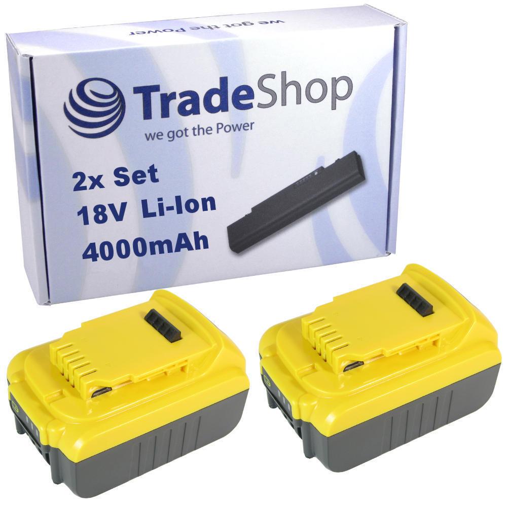 2x AKKU 18V 4000mAh Li-Ion für Dewalt DCH273 DCL040 DCL040 DCL040 DCN690 DCR006 DCS331 DCS331B ecdeae