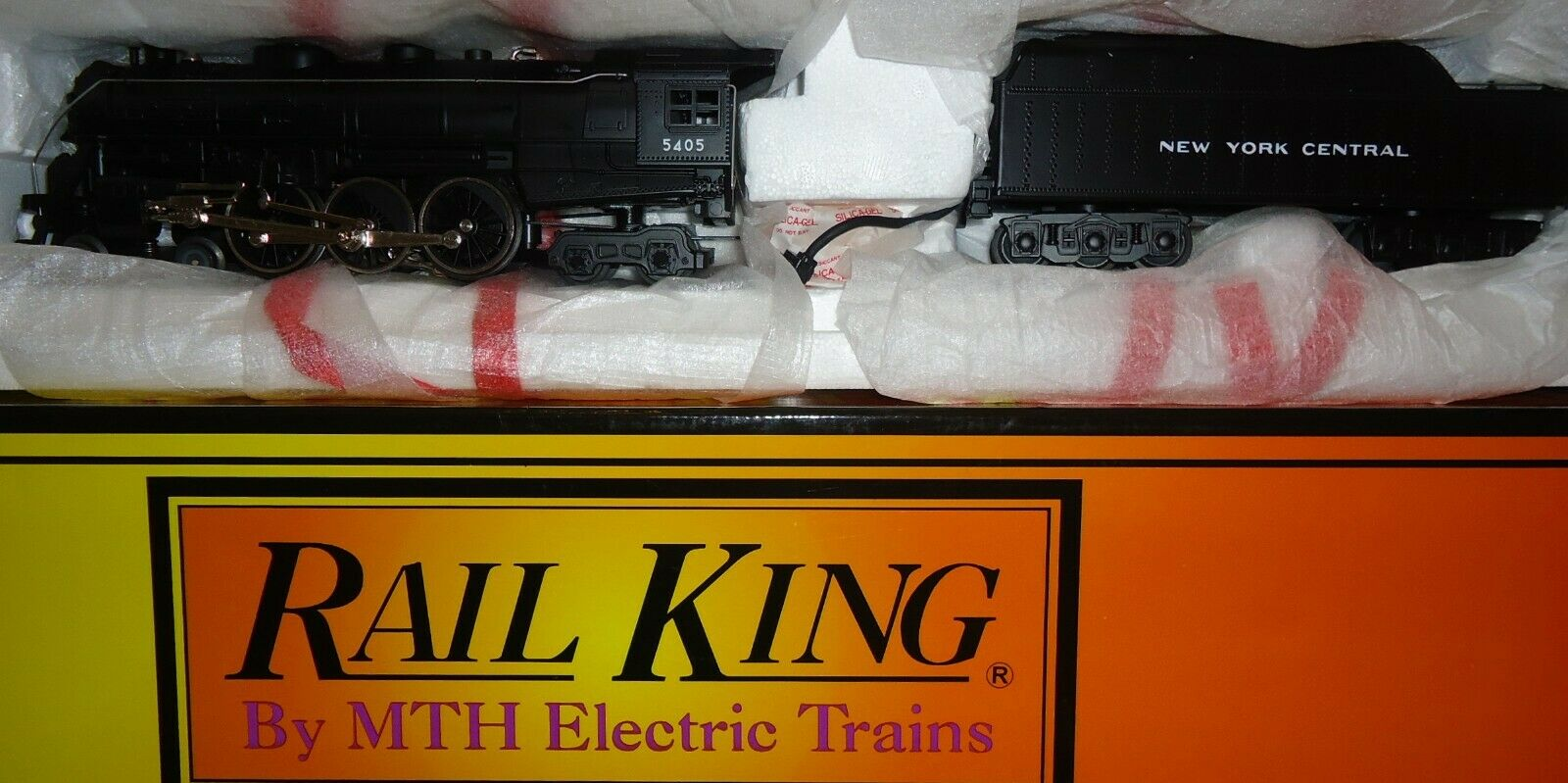 MTH rail king - - 4-6-4 Hudson-New York Central - 30-1121-1 Sonido Projoo