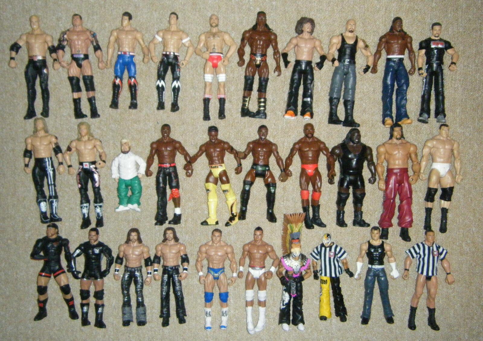 Wwe Wrestling Mattel Serie Básica Figura Acción Luchadores Entrada Juguetes