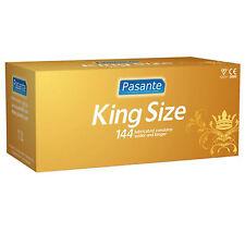 CONFEZIONE Originale144 PRESERVATIVI PASANTE XXL KING SIZE EXTRA LARGE + XL