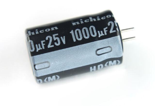 1000uf 25v Capacitors Lot of 10 105C