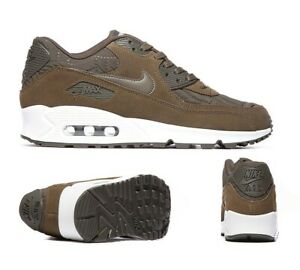 capa Víspera Leer  Junior Nike Air Max 90 Prem Dark Loden Trainers (NF1) RRP £109.99   eBay