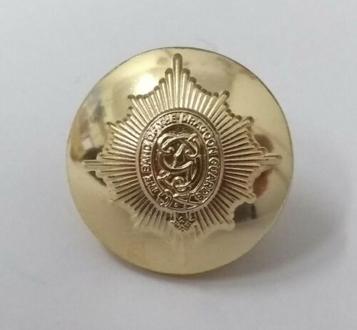 Genuine British Army The Band of The Dragoon Guards Dress Buttons 30L 19.1mm