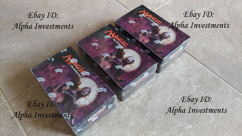 Eldritch Moon 3 Booster Boxes Boxes Boxes HALF CASE Magic the Gathering MTG NEW Sealed 4c37a8