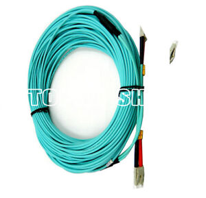 HUASHUN-20M-LC-LC-OM3-Duplex-Multimode-Optical-Fiber-Jumper-Multimode-pigtail-SS