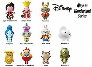 Disney Collectible 3d Figural Keyring Alice In