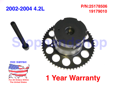 MOCA Timing Chain Kit with Variable Valve Timing Sprocket for 2002-2004 Chevrolet Trailblazer /& GMC Envoy /& Isuzu Ascender L6 4.2L