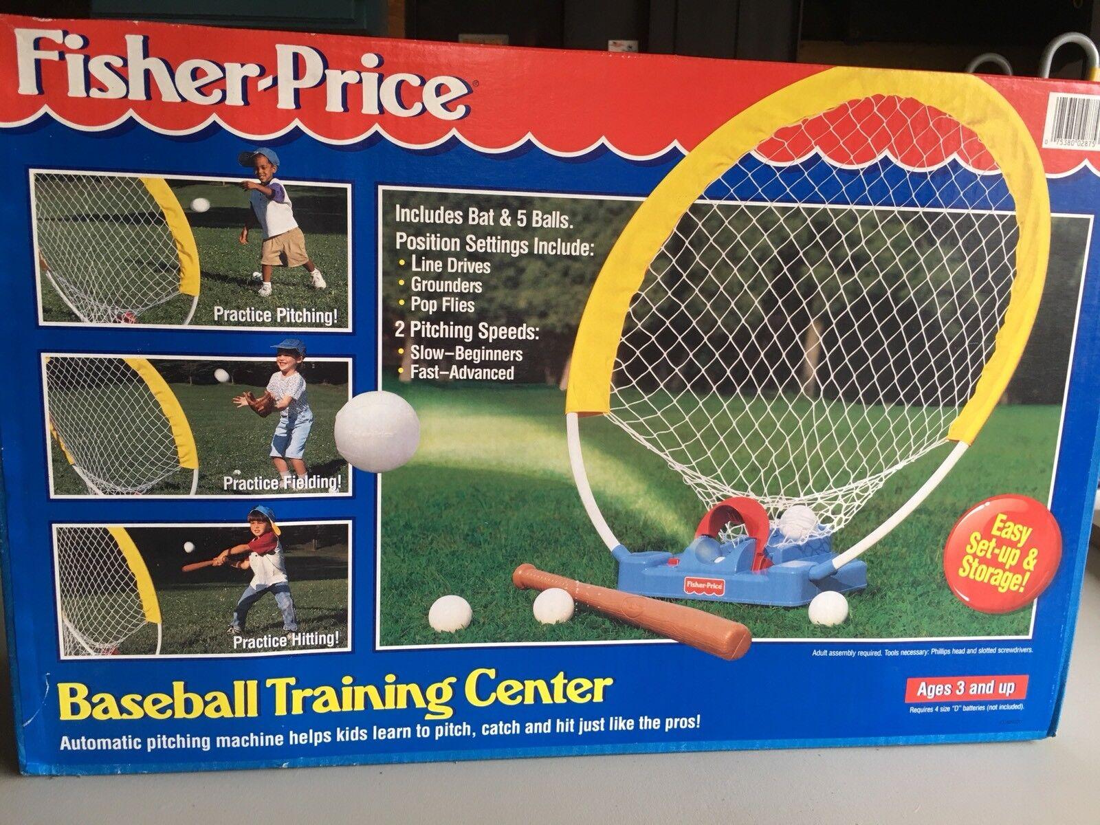 Vintage 1994 Fisher Price Baseball Training Center NEW