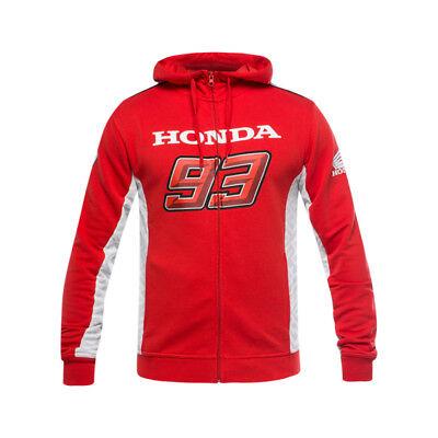 2018 Honda Motogp Marc Marquez #93 Uomo Felpa Con Cappuccio Felpa Con Cappuccio Felpa Zip Taglie S-xxl-mostra Il Titolo Originale Regalo Ideale Per Tutte Le Occasioni