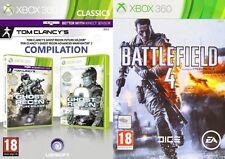 Ghost Recon Future Soldier y Advance Warfighter 2 & Battlefield 4 Nuevo y Sellado