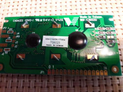 1 tnna 500898-2 filas sin iluminación Display circuitos impresos-WM-C//1602k