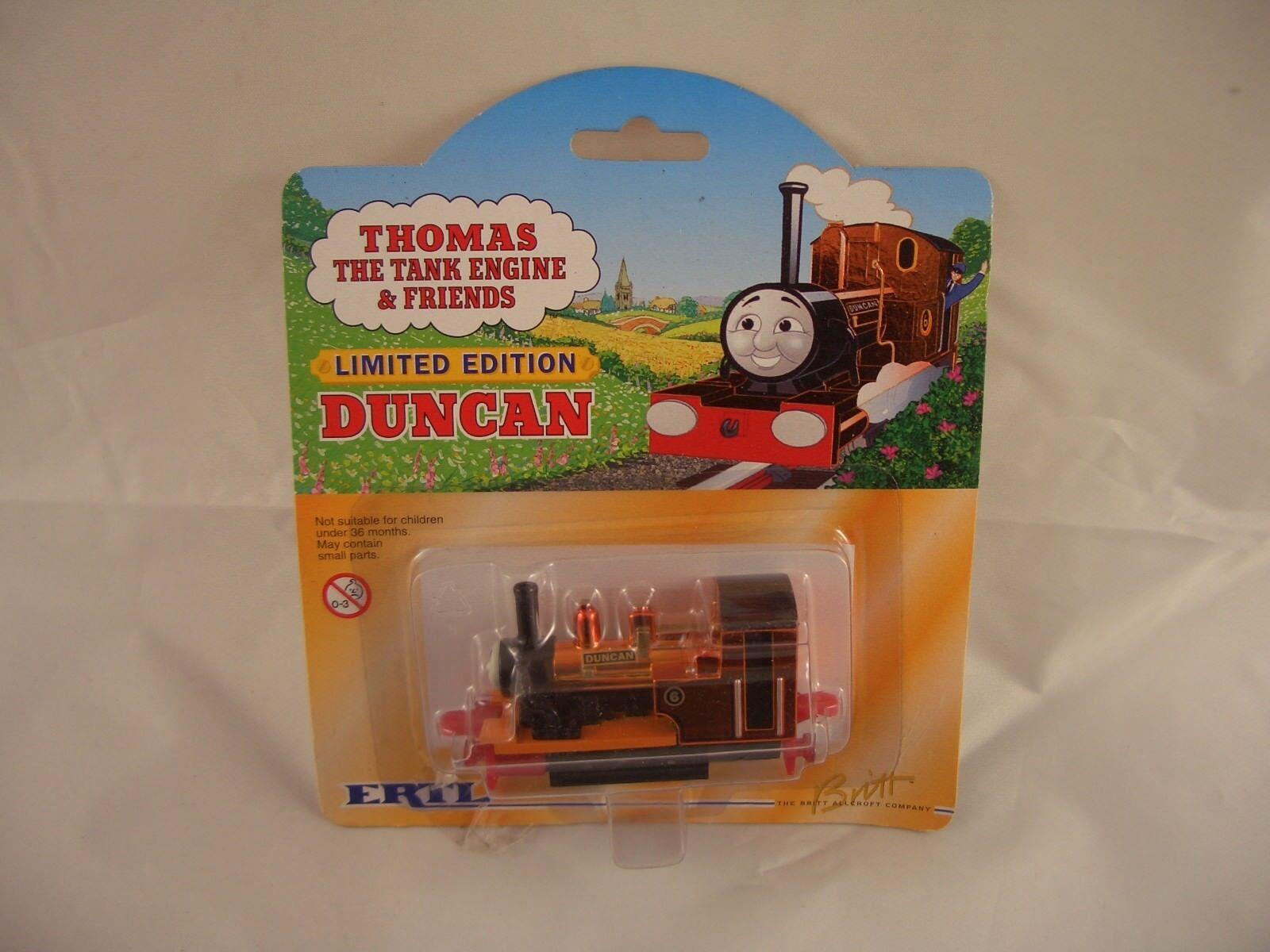 ERTL Thomas Tank - motorn Duncan begränsad Edition Die Cast