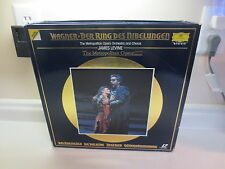 Richard Wagner Das Rheingold Laser Disc The Metropolitan Opera 11 discs 18 sides