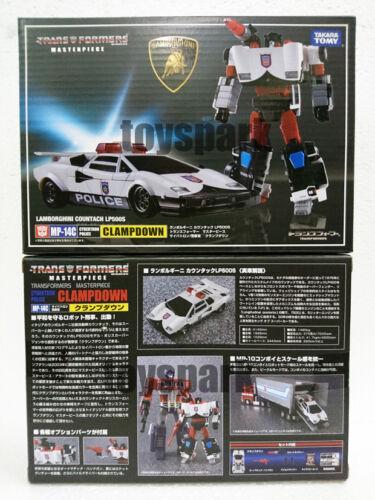 TAKARA TOMY Transformers Masterpiece MP-14C CLAMP DOWN Clamp Down Lamborghini