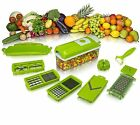 2 PC Dicer Slicer Cuts Vegetables & Fruits Dicer Cutter Chopper Nicer 2 BLADES