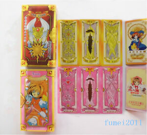 Cardcaptor-Sakura-Two-Sets-52-55-Card-Clow-Cards-Cosplay-Free-Shipping