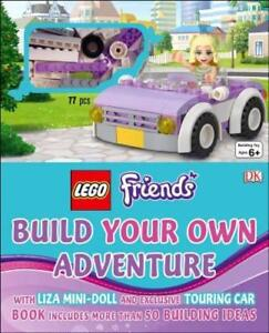 Lego Friends: Build Your Own Adventure by DK: Used