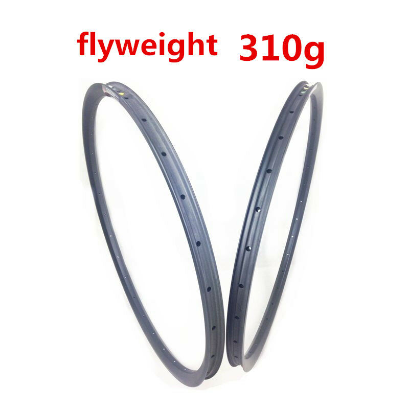 29er carbon rim 310g Asymmetric 30mm Wide  Carbon fiber mountain bike Rim lighter  lowest prices