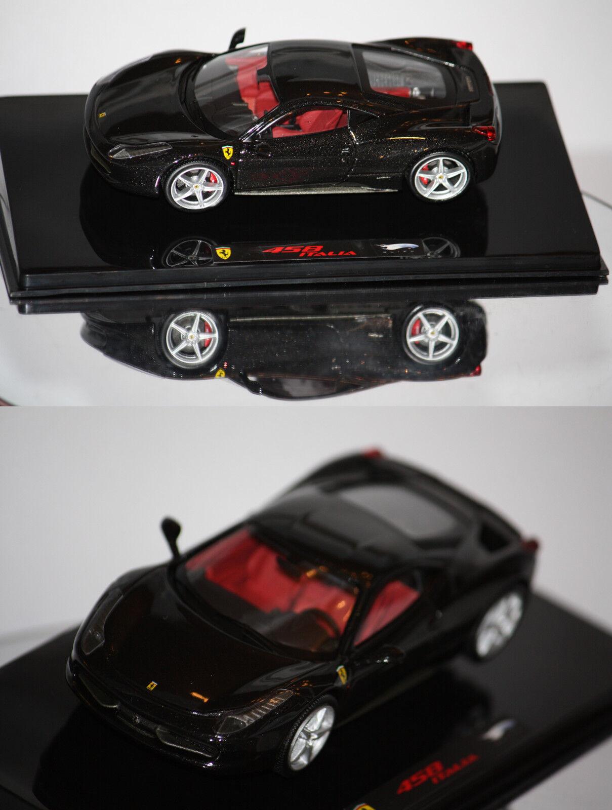 80% di sconto Calienteruedas Elite Ferrari 458 Italia 2009 neroe 1 1 1 43 P9955  prima i clienti