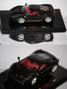 Hotwheels-Elite-Ferrari-458-Italia-2009-noire-1-43-P9955