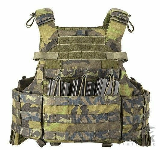 Original Czech Army Special Units Battle Tactical Vest - Model 2018-2019 - New