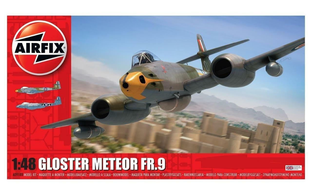 Airfix - A09188 - Gloster Meteor FR9 1 48