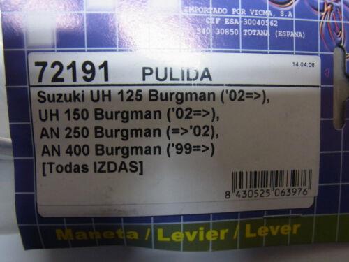 b24 LEVIER de frein gauche pour suzuki Burgman uh 125-150 nouveau Maneta LEVIER lever