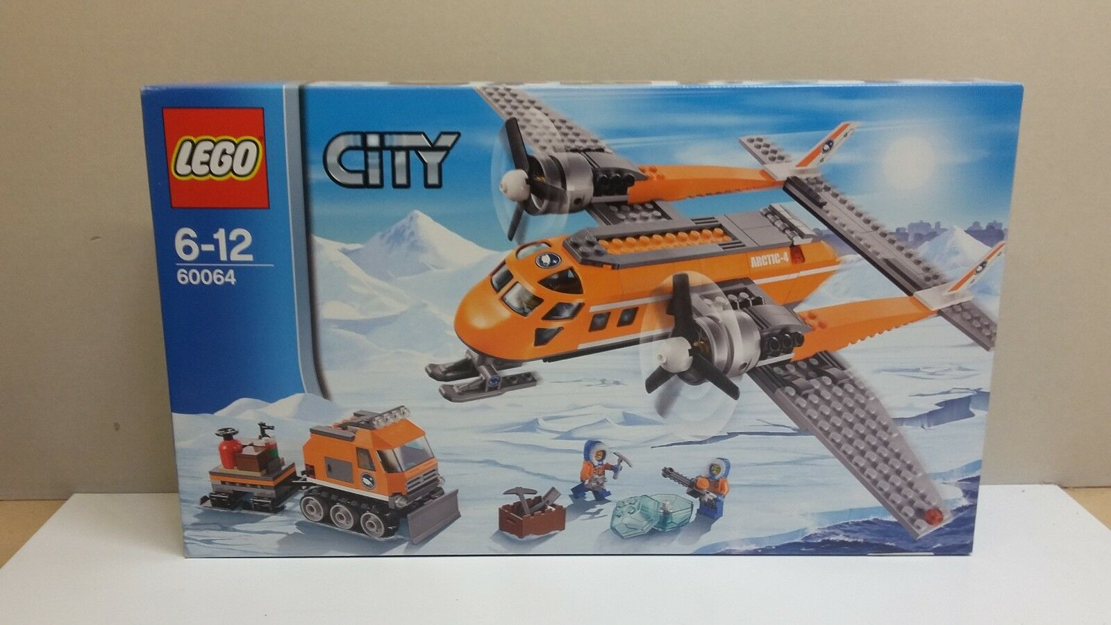 NEW LEGO  CITY 60064 ARCTIC SUPPLY PLANE