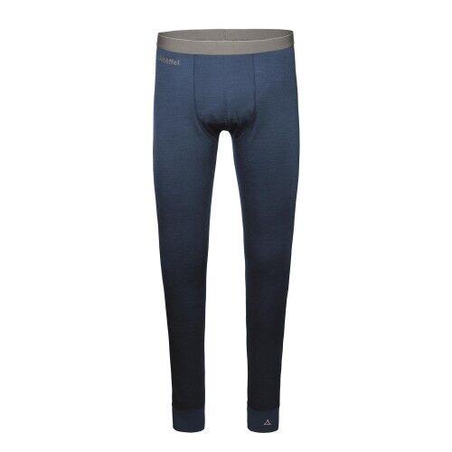 Schöffel Merino Sport Pants long M Herren Funktionsunterhose Herren blau Outdoor
