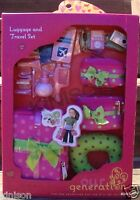 """NEW Our Generation Luggage And Travel Set For 18"""" Dolls Toys"""