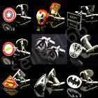 Hot SuperHero The Avengers Star Wars Style Cufflinks Mens wedding party gifts
