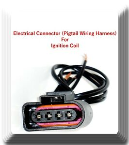Details about Ignition Coil Electric Connector Repair Kit Harness Audi on volkswagen 1.8 turbo engine, jeep cherokee door wiring harness, dodge ram door wiring harness, 2001 jetta stereo wiring harness,