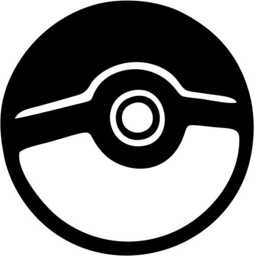 Decal Vinyl Truck Car Sticker Pokemon Go Pokeball