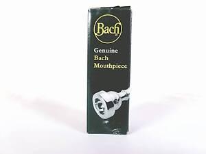 Confiant Bach 1780t1c Custom 1 C Rim Une Tasse Trompette Embout Buccal En Argent Plaque Neuf-afficher Le Titre D'origine
