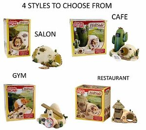 LIVING-WORLD-HILLSIDE-SALON-CAFE-GYM-SYRIAN-DWARF-HAMSTER-CAGE-HIDE-RESIN-HOUSE
