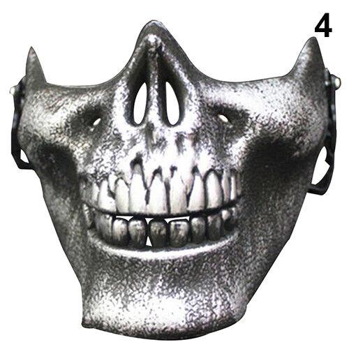 Hot Skull Half Face Military Skeleton Warrior 3 Generations Masquerade Mask Drea