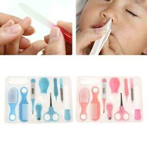 10-un-conjunto-de-cuidado-de-la-salud-del-bebe-Cepillo-de-pelo-de-unas-termometro-Aseo-ninos-O6W2-C