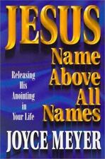 Jesus Name Above All Names Christian paperback Joyce Meyer FREE SHIPPING jesuses