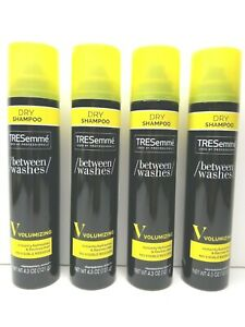 4-TRESemme-Dry-Shampoo-Volumizing-Between-Washes-Instant-Refresh-Revive-Hair-NEW