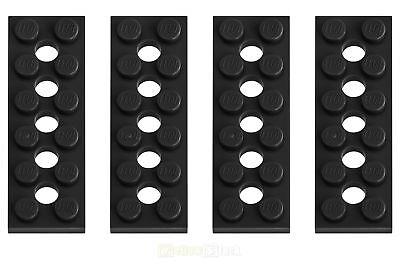 6x LEGO® Technic 32001 2x6 Lochplatte 5-Loch neu-hellgrau NEU