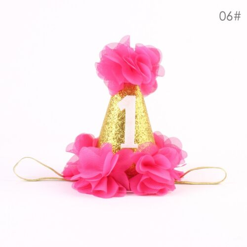 Toddler Kids Baby Girls Princess Party Flowers Crown Hair Band Headband Headwear