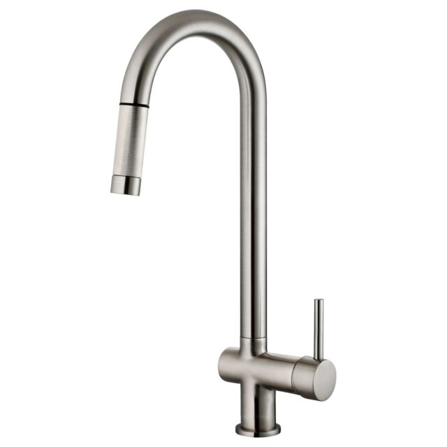 Kitchen Faucet Pullout Brushed Nickel LK13B by LessCare