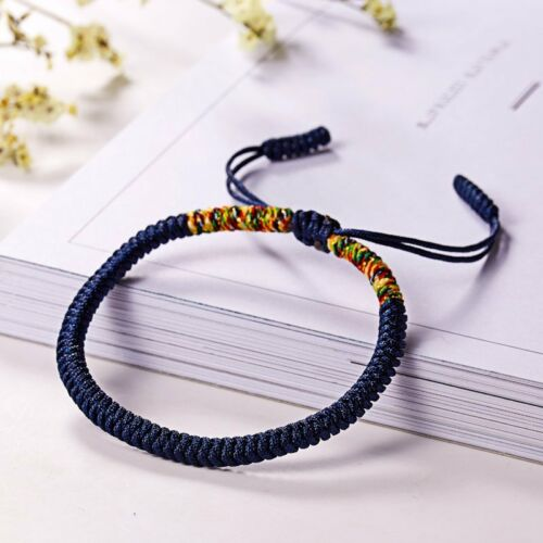 Fashion Ethnic Adjustable Handmade Knitted MultiColor Bracelet Women Jewelry Hot