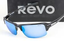 REVO Abyss Sunglasses Black / Polarized Blue Water Mirror Lens Re 4041x 01