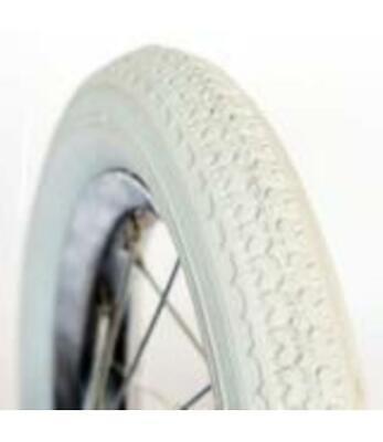 "4898 C3 Tyre 12/"" 12-1//2x2-1//4/"" 30cm Kids BMX Pram 40psi Max White Duro"