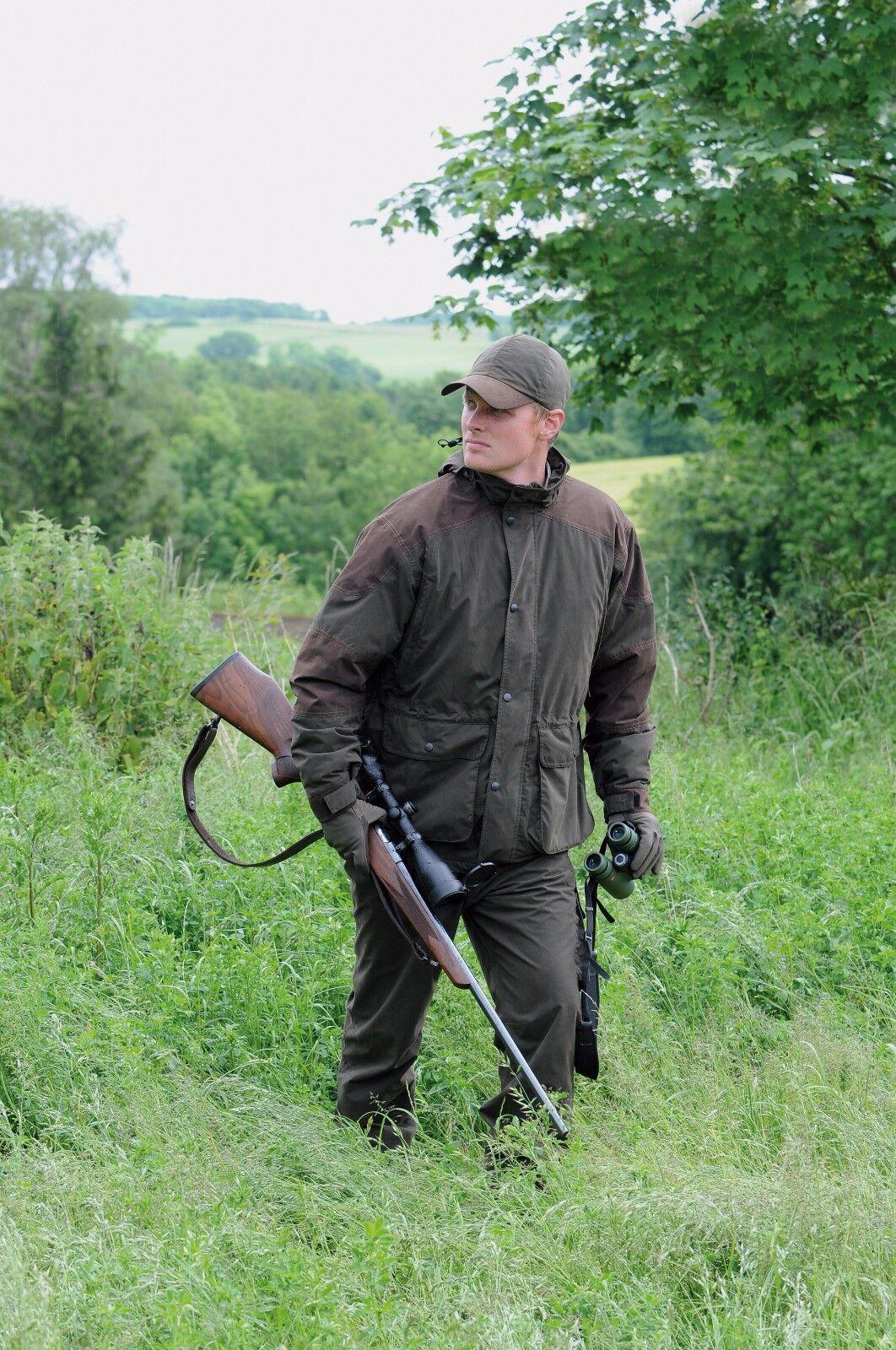 Laksen Para Hombre Chaqueta Impermeable de disparo, acechando Kudu