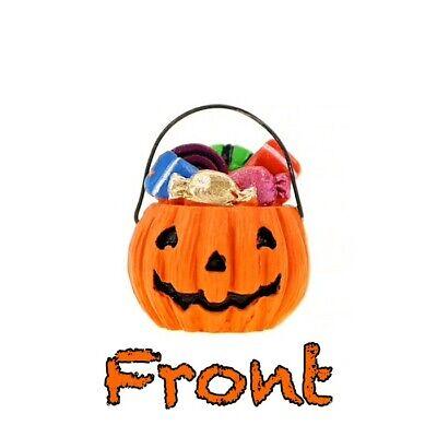 Dollhouse Miniature Pumpkin Basket by Darice